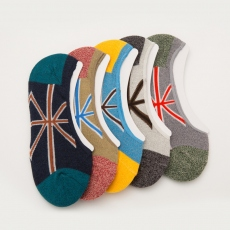 UK style men no-show socks