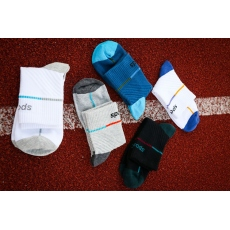 Men running compression socks