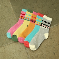 Star women crew socks