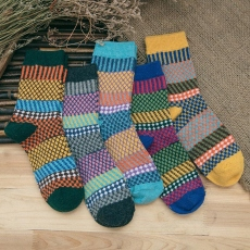 Women wool crew socks