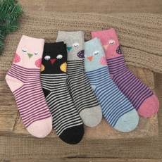 Cartoon women wool socks