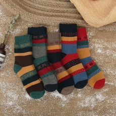 2017 new wool snow Christmas women socks