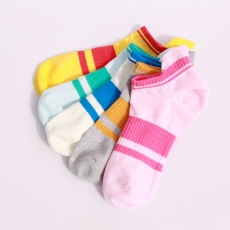 Colorful compression ankle socks
